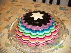 Gelatina arco-iris