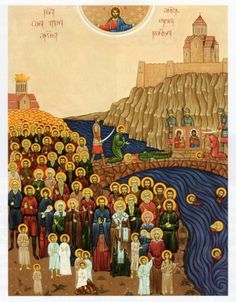 100,000 Martyrs Beheaded In Tbilisi, Georgia who refused to Denounce Christ and Accept Islam in the 14th Century.