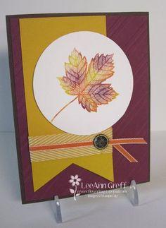Fall Color Combo: Rich Razzleberry, PumpkinPie & Crushed Curry - Magnificent Maple #SU