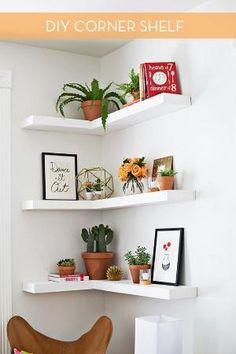 diy corner shelves by francisca