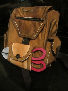 My sister's (Mangoloo) Borderlands 2 Tiny Tina backpack for Otakon.    For more…