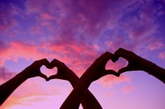 Double Love Heart Hands At Sunset by Pink Sherbet Photography, via Flic kr Best Friend Photography, Love Photography, Bff Pictures, Best Friend Pictures, Sweet Love Pictures, Shooting Photo Amis, Best Friend Fotos, Best Friends Shoot, Friend Poses
