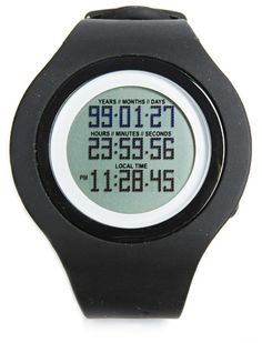Tikker watch, is a reminder to live life to the fullest. It counts down the days of your life. So we don't take a second for granted.