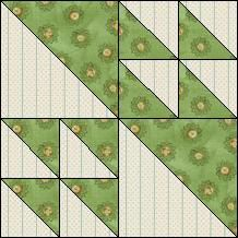 Block of Day for April 20, 2015 - Flock of Geese