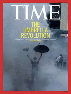 The Umbrella Revolution - Hong Kong's fight for freedom (Photograph by Xaume Olleros–AFP/Getty Images)