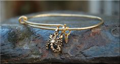 Scorpio Expandable Bangle bracelet Zodiac by thewrappedpixie