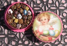 Miniature Box of Chocolates 12th Scale Polymer by TheSweetBaker