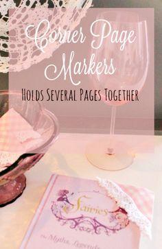 Book Mark, Sewing, DIY, Crafts