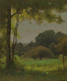 Out of My Studio Door, Montclair, George Inness, 1878-79