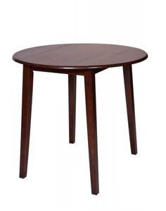 Westbrook Transitional Amaretto Solid Wood Drop Leaf Pub Table