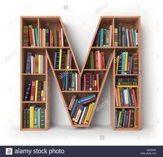 Wall shelf and bookcase models - Life ideas Bookshelves For Small Spaces, Creative Bookshelves, Bookshelves Kids, Bookshelf Design, Wall Shelves Design, Bookcase, Shelf Wall, Home Decor Furniture, Diy Home Decor