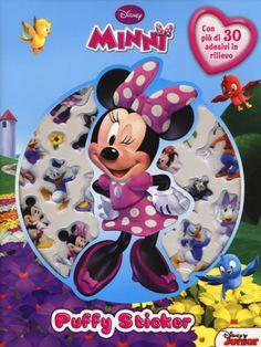 #Minni. puffy sticker. con adesivi edizione Disney libri  ad Euro 5.02 in #Disney libri #Libri per ragazzi