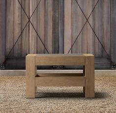 Concrete Side Table - Restoration Hardware