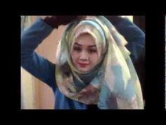 Tutorial wide shawl ala arab