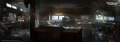 ArtStation - SPLINTER CELL BLACKLIST : Communication Room , Nacho Yagüe