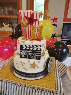 Craftsy Member Project: Oscar Party Birthday Cake