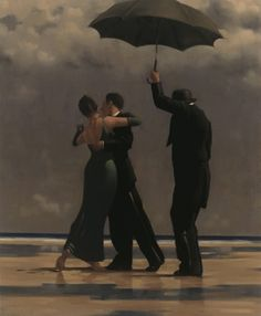 Jack Vettriano© – Dancer in Emerald