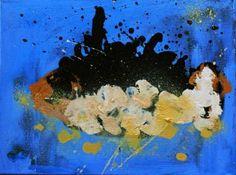"Saatchi Art Artist Michele Dolz; Painting, ""Fish 13"" #art"