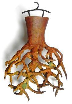 Pret a Porter (Tree) by Carolina Baptista Rodriguez, bronze, Courtesy of Porter Contemporary