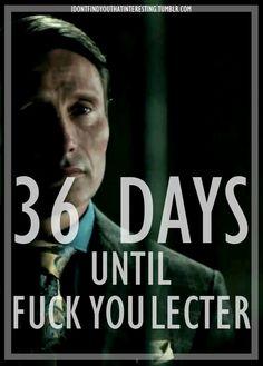 Hannibal Season 2 Countdown- 36 Days