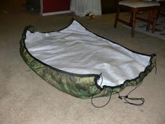 how to make an under quilt for hammock - Google Search