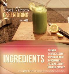 Super Human Green Drink   Flickr - Photo Sharing!