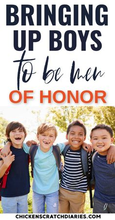 Raising boys to be honorable, respectful and God-fearing: how to raise a gentleman in today's upside-down, anything-goes world. Practical Parenting, Natural Parenting, Parenting Books, Gentle Parenting, Parenting Teens, Parenting Advice, Peaceful Parenting, Parenting Quotes, Raising Kids Quotes