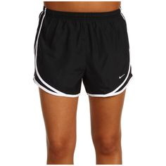 Nike Dri-FIT Tempo Track 3.5 Short Women's Shorts ($24) ❤ liked on Polyvore featuring activewear, activewear shorts, shorts, bottoms, nike, logo sportswear, nike activewear and nike sportswear