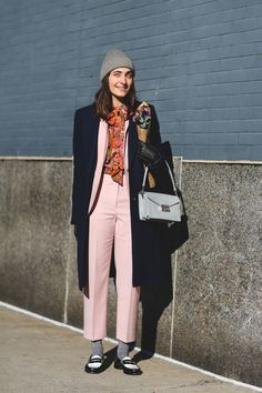 Clever Winter Styling Tricks When You Have Only One F*ck Left To Give #refinery29  http://www.refinery29.com/winter-styling-tricks#slide-3  Don't wait until spring to wear your cropped suits. Just go with the fashion-nerd vibe and pull on your thick socks. Trust us — it'll look cool, not crazy. ...
