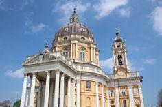 Basilica of Superga, a church in the vicinity of Turin.