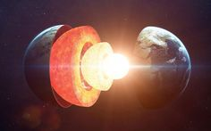 Earth's Core Is 2.5 Years Younger Than Its Crust Due To Gravitational Time Dilation
