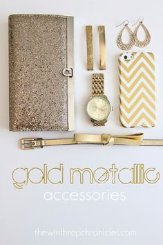 I love gold! I own all of this minus the cluth. Obsessed with iPhone cases