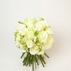 white and green freesia rose and peony bouquet - Google Search