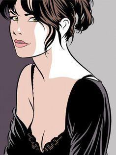 j'aime tes lignes, Claire (illustration : Walter Minus)