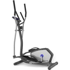 Magnetic Resistance Elliptical with Heart Pulse Sensors Fitness Exercise Cardio Workout Gym Upper Body Workout Heavy Duty Frame Design up to 300lb 8 Level Resistance Increases Cardiovascular Endurance. The heavy-duty elliptical frame design accommodates users up to 300 lbs 8 levels of resistance increases cardiovascular endurance or weight loss Heart rate sensors allow you to adjust your target workout zone by increasing or decreasing the speed and resistance Quick and convenient…