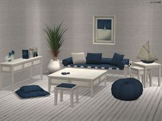 Buggybooz Drift Living Recols - Möbel / Furniture - All4Sims.de