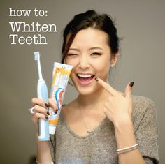 From Head To Toe: How To Whiten Teeth & Food Do's & Don'ts!