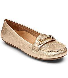 607c2e68883 Vionic Chill Kenya Metallic Leather Loafers  Dillards Uk Summer
