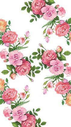 flowers, fondos, iphone, pink, simple, tumblr, wallpaper, wallpapers