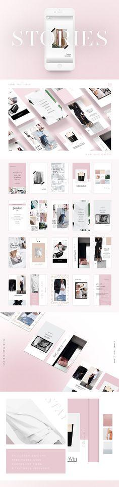 Instagram Stories templates | Social media branding and design