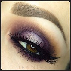 Purple Smoke  Lashes from @lepetitlapinlashes Shadows: @Sugarpill Cosmetics Cosmetics Cosmetics Cosmetics Cosmetics Cosmetics Tako, Makeup Forever 160, MAC Uninterrupted, Blunt, and Soft Brown.  @anastasiabeverlyhills Dipbrow - blonde and chocolate