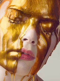 Liquid Gold: Impressive Beauty Photography by Jonathan Knowles #inspiration #photography