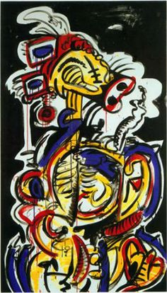 Red-Yellow-Blue No.15 - Keith Haring