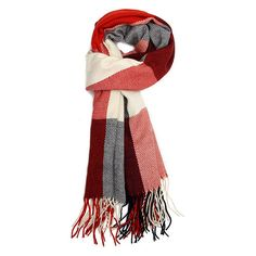 Women Wool Blend Tassels Plaid Checks Lattices Winter Scarf Shawl Wrap ❤ liked on Polyvore featuring accessories, scarves, tassel scarves, tartan plaid scarves, plaid wraps shawls, wrap shawl and plaid scarves