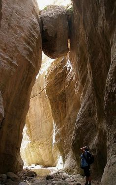 Avakas gorge, Paphos District, Cyprus | Flickr - Photo by scosborne