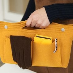 Learn more about the Felt Purse Organizer!