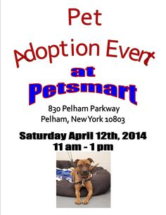Pet Adoption Event @ Petsmart
