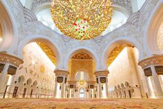 Sheikh Zayed Grand Mosque interior in Abu Dhabi, UAE Wall Mural ✓ Easy Installation ✓ 365 Days to Return ✓ Browse other patterns from this collection! Ancient Greek Architecture, Islamic Architecture, Futuristic Architecture, Gothic Architecture, Air Pollution Poster, Abu Dhabi Grand Prix, Dubai Tour, How To Make Planner, Visit Dubai