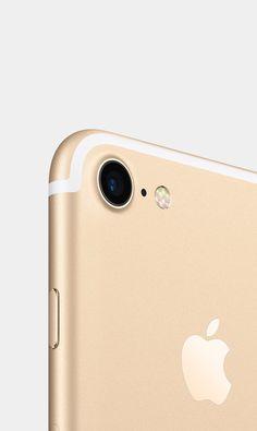 Apple iPhone 7 Gold #technology #apple