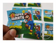 STICKERS Mario Bross • Stickers • Party Kids